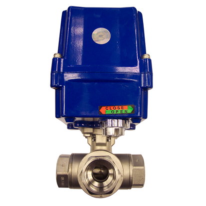 Electric Actuated Valves Electrically Actuated 3 Way S S